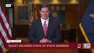 FULL VIDEO: Governor Ducey delivers State of State address