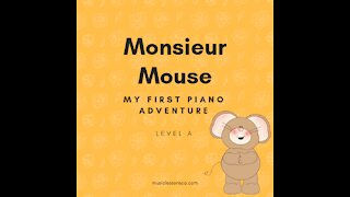 Piano Adventures Lesson Book A - Monsieur Mouse