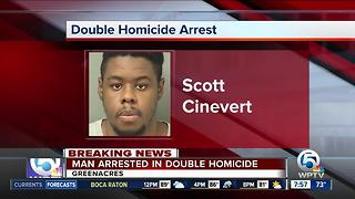 Suspect arrested in Greenacres double homicide