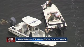 Two rescued, one still missing after boat sinks in Myakka River, FWC says