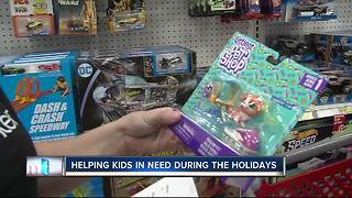Groups rally to give abused and neglected children gifts before holiday break