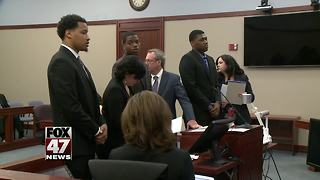 Fmr. MSU football players to be sentenced - Video