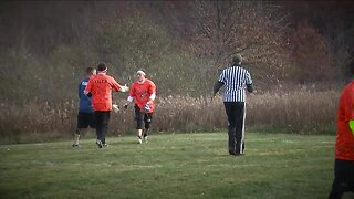 Meadows Turkey Bowl football game tradition to raise money for girl with cancer