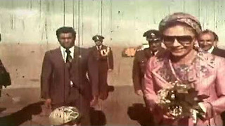 An old Video of Farah Pahlavi Iran's Former Empress - Video