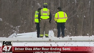 Fatal crash closed Eastbound I96 for several hours - Video