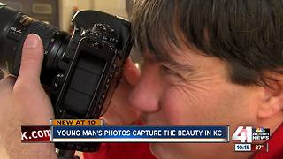 Photos from self-taught artist gain popularity - Video
