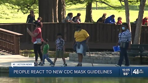 KC metro residents react to new CDC mask guidelines