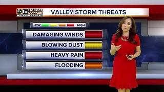 Slight chance of Valley storms on Thursday - Video