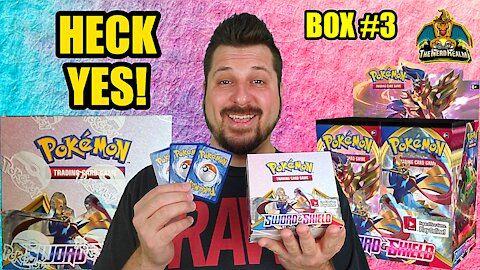 Sword & Shield Booster Case (Box 3) | Pokemon Opening