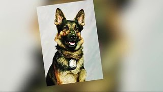 Police finalize memorial service for fallen K9 Officer Axe