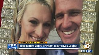 San Diego firefighter's widow opens up about love and loss - Video