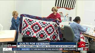 Quilts for veterans - Video