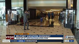 Westgate offer for military - Video