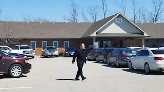 The Church Of God In Aylmer Hosted An Outdoor Service After Being Forced To Lock Its Doors