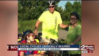 Local cyclist critically injured; loved ones searching for answers - Video