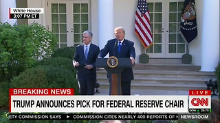 Trump Names Jerome Powell as Next Fed Chairman - Video