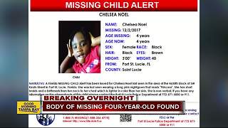 Body of missing 4-year-old girl found in pond