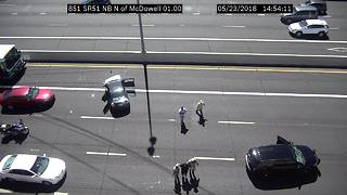 Suspects taken into custody on SR 51 after pursuit - Video