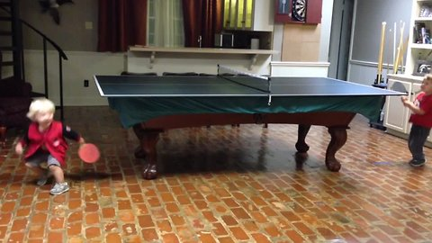 Kids VS Ping Pong