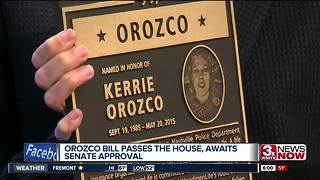 Kerrie Orozco bill passes in U.S. House