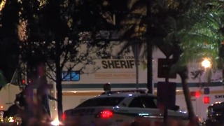 Search for suspect in stolen vehicle prompts road closure in unincorporated Boynton Beach - Video