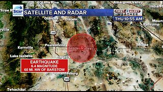 6.4 magnitude earthquake felt in southern Nevada