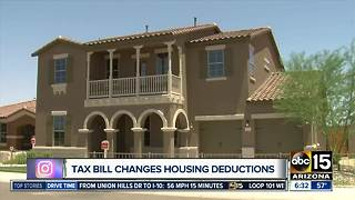 Tax bill changes housing deductions - Video