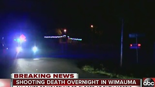 Shooting investigation underway in Wimauma - Video