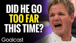 Gordon Ramsay's Traumatic Childhood Gets The Best Of Him | Goalcast