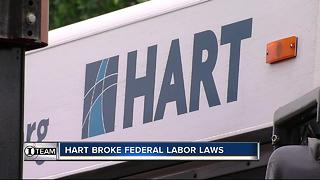 I-Team: Federal Investigators force HART to pay back employees overtime - Video
