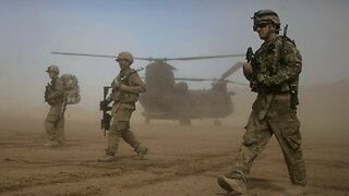 U.S. Military Conducts Airstrike On The Taliban In Afghanistan