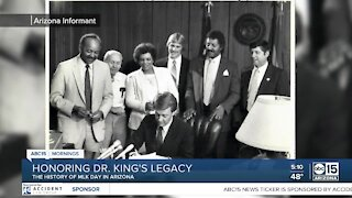 History of Dr. King's legacy in Arizona