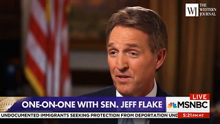 Flake Won't Rule Out Challenging Trump (C1) - Video