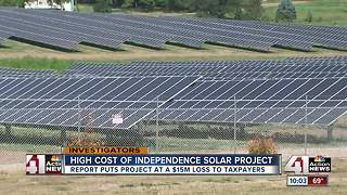 Independence to lose millions on solar farms