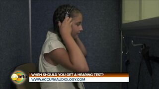 WHEN SHOULD YOU GET A HEARING TEST