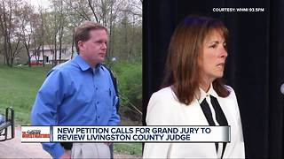 New petition calls for grand jury to review Livingston County judge - Video