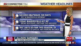 Bakersfield's second heatwave has officially ended