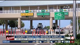 Lee County mulls toll revenue surplus - Video