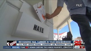 Recognizing mail carriers in your neighborhood