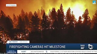 UC San Diego firefighting camera system hits new milestone