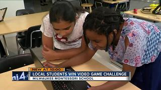 STEM students win national video game challenge - Video