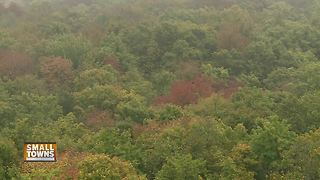 Small Towns: Mountain Fire Lookout Tower offers beautiful view of fall - Video