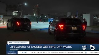 Lifeguard attacked after getting off work
