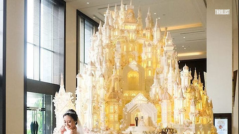 These Castles Are Actually Wedding Cakes