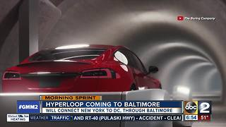 Elon Musk working on bringing Hyperloop to Maryland - Video