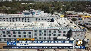 Grand opening of Legoland Castle Hotel - Video