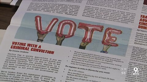 Free RISE newspaper explains rights and resources for incarcerated people while offering hope