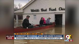 East End businesses recovering after Ohio River flood - Video