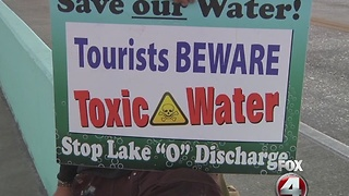 Clean water group starts daily protest on FMB - Video