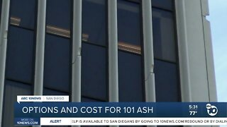 Options and possible consultation costs for vacant building
